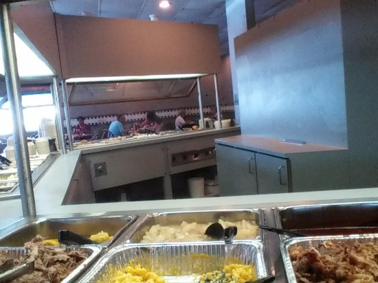 Weldon, Carolina do Norte: Buffet at Ralph's
