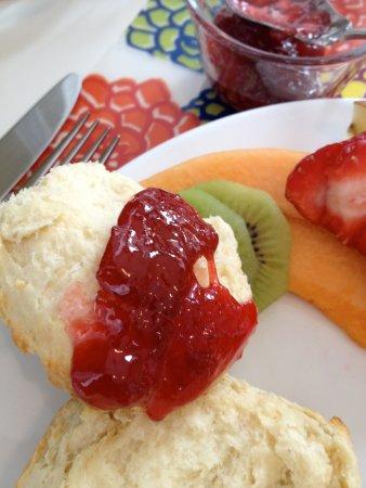 Mauger Estate B&B: Homemade breakfast