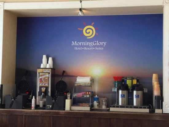 Ocean Shores, Waszyngton: Free hot breakfast!