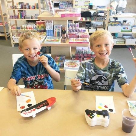 Solvang, CA: Creative Fun for Everyone at Modern Makers.
