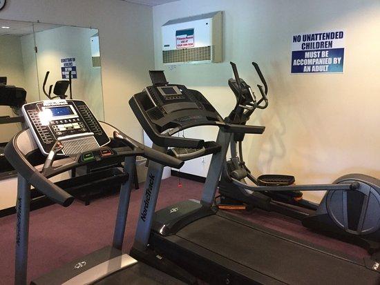 Ocean Shores, WA: Fitness room