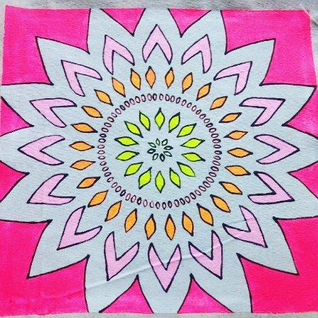 Solvang, Kalifornien: Mandala Design is Hot!