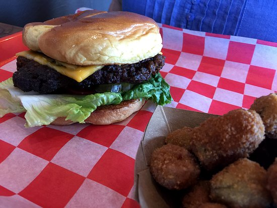 Okemah, OK: Smoking gives Papa's burgers a rich flavor not found in grilled sandwiches.
