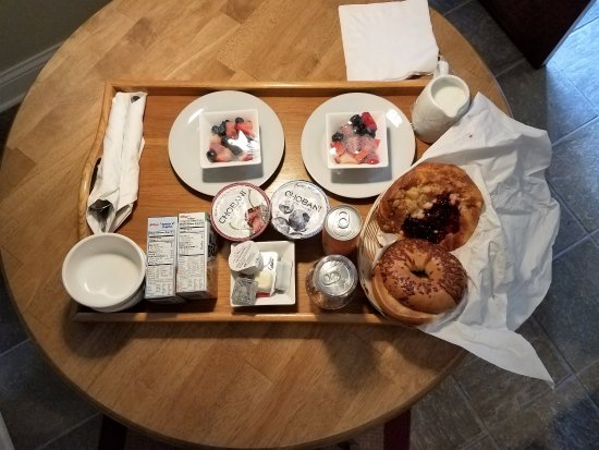 SevenOaks: European Continental Breakfast