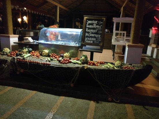 Fishermans wharf buffet