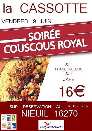 Nieuil, France : COUSCOUS