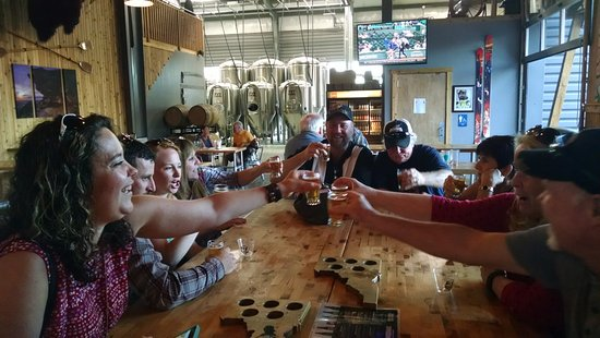 Meridian, ID: Fun times at Powderhaus Brewing