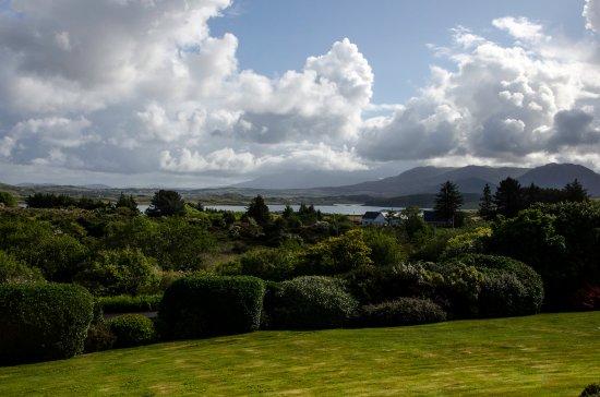 Moyard, Irland: Vue de la chambre