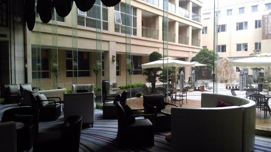 Hengyang, China: 飯店大廳, 旁邊設有吧台