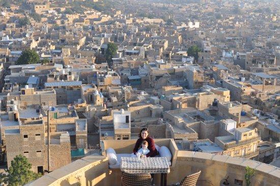 Hotel Garh Jaisal Haveli : De la terrasse
