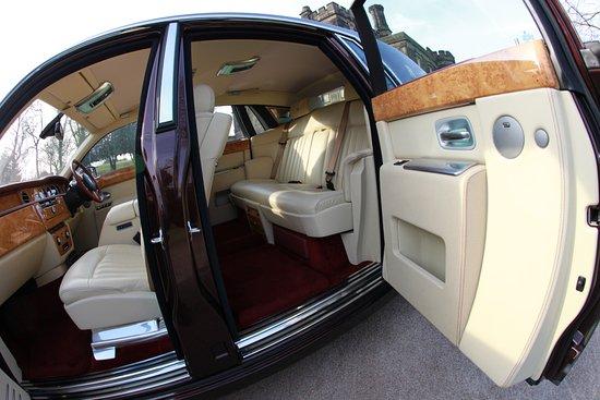 rolls royce phantom white interior. sv limousines rolls royce phantom 4 passenger cream leater interior white o