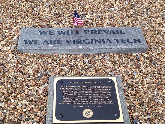Blacksburg, VA: April 16 Memorial at Virginia Tech