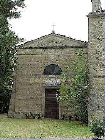 Rocca San Casciano, Italy: Abbazia San Donnono in Soglio - Facciata