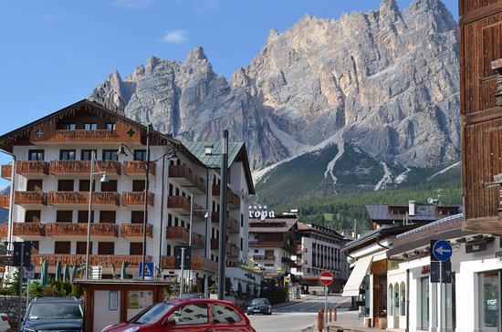 Panorama camera picture of hotel meuble villa neve for Hotel meuble villa neve cortina