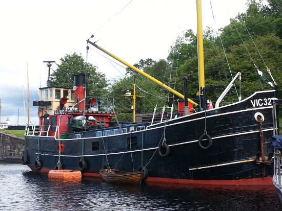 Argyll and Bute, UK: Steam Boat at Crinin