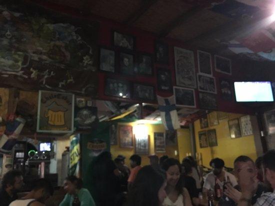 Sala de Cerveza Chelacabur: parte interna