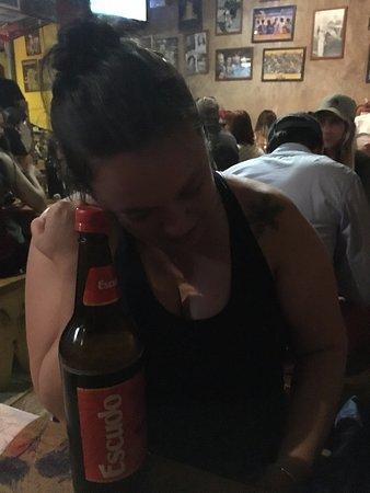 Sala de Cerveza Chelacabur: cerveja da casa