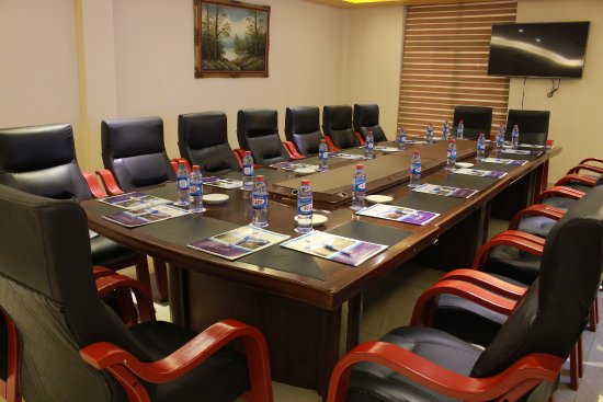 Sunyani, Ghana: One of the 10 meeting rooms