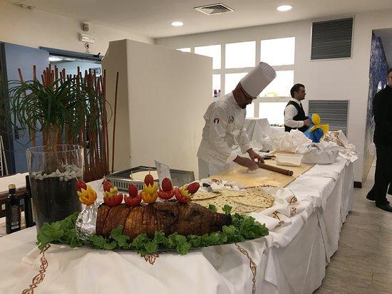 Hotel Maddalena : Chef Corrado
