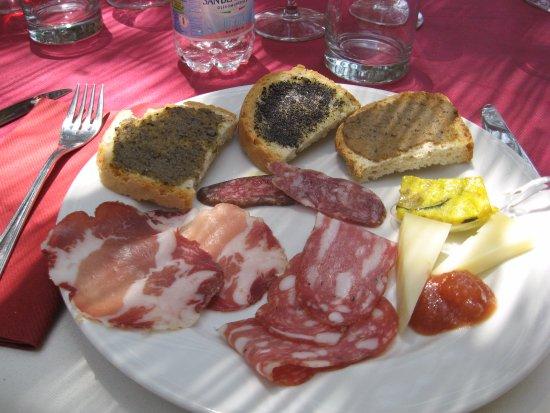 Castiglione in Teverina, Ιταλία: Lovely lunch