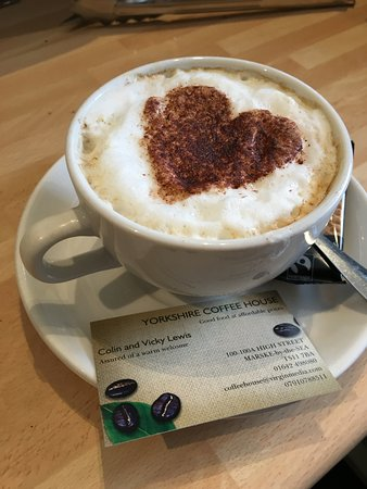 Marske-by-the-Sea, UK: LOVE COFFEE