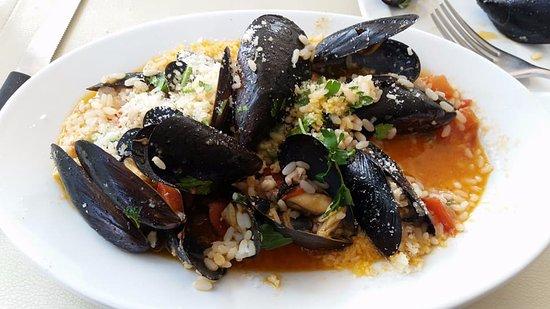 Cafe' Sikelia: Seafood Risotto