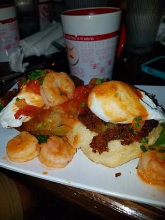 The Ruby Slipper Cafe : The Shrimp Boogaloo Bennie - absolutely amazing!