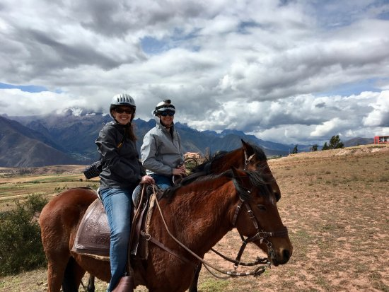 Cusco for You Salineras Ranch: We loved our horses (who were brothers) Boletto and Professor