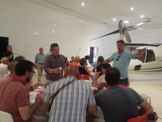 Volandia Parco e Museo del Volo Malpensa: sala pranzo speciale