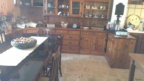 Villa Artemide: cocina