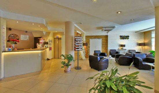 Hôtel de Bordeaux : Hall d'entrée et réception