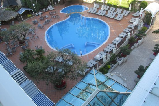H10 Delfin: Shaped pool and sunbeds