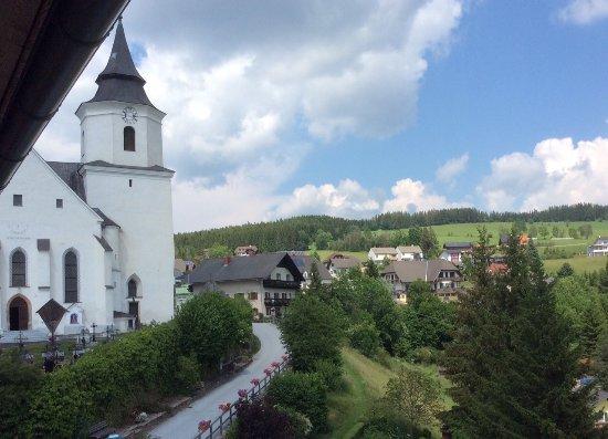 St. Kathrein am Offeneg, Austria: Blick vom Zimmer 305