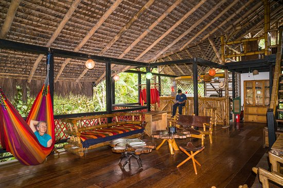 Maquipucuna Reserve & Ecolodge: Main lodge