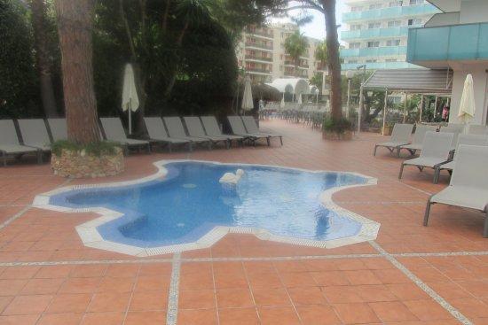 H10 Delfin: Second small pool