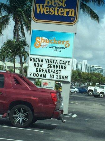 Buena Vista Cafe - Best Western - North Bay Village FL