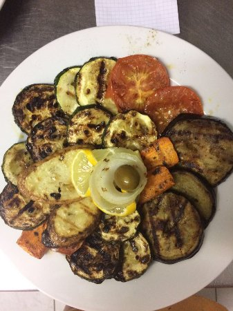 Solta Island, Kroatien: Grilled vegetables