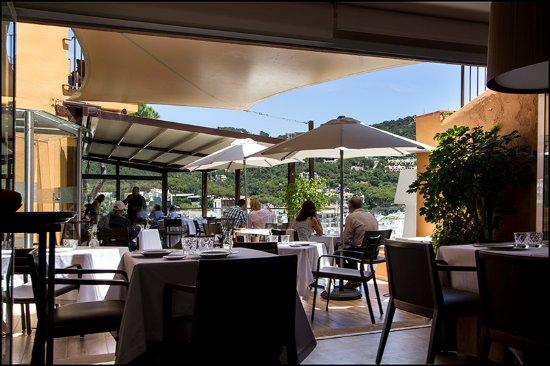 Comedor terraza photo de casamar palafrugell tripadvisor for Comedor terraza easy