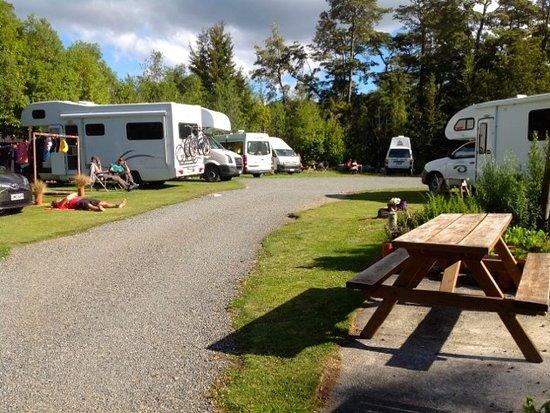 Possum Lodge : Campervan area