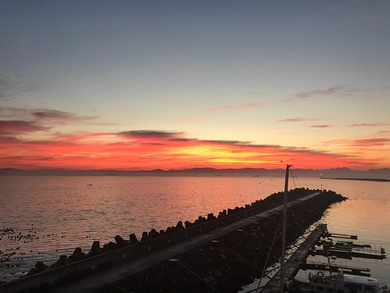 Radisson Blu Hotel Waterfront, Cape Town: Gorgeous sunrise view from the room