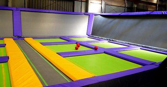 JUMP Indoor Trampoline Park, East Tamaki, Auckland, New Zealand