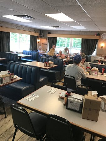 Galion, OH: inside seating