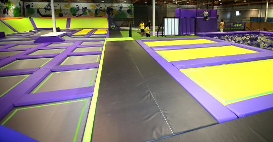 JUMP Indoor Trampoline Park, Hamilton, New Zealand