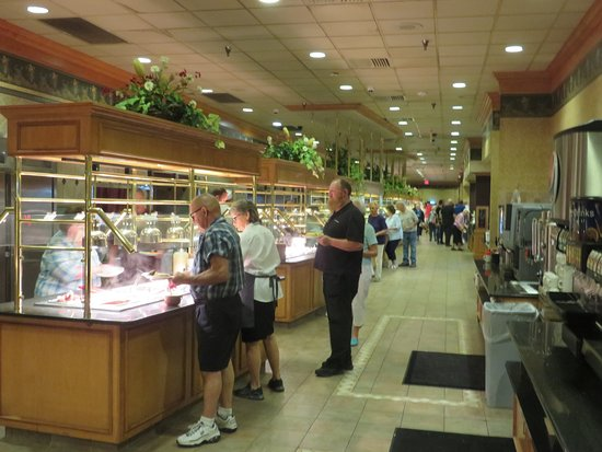 East Earl, Pensilvania: the 250ft-long buffet