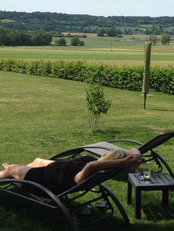 Le Grand-Pressigny, Francia: A popular (in)activity at Le Studio Vert!