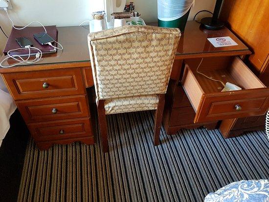 Kings Park Hotel: scrivania