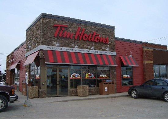 Kemptville, แคนาดา: ❤️ Tim Hortons ❤️