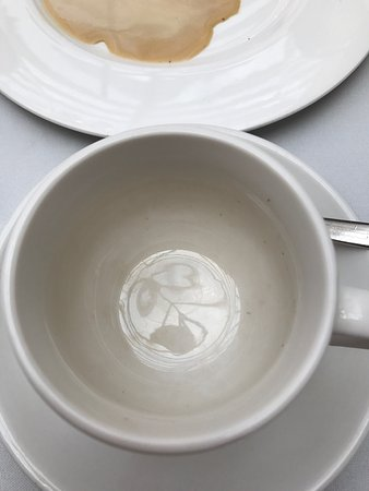 Stonedge, UK: One of the coffee cups on the table.