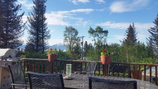 The Spyglass Inn B&B: view from dining area