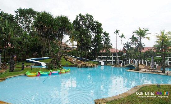 Kids Pool With Slides Picture Of Bintan Lagoon Resort Lagoi